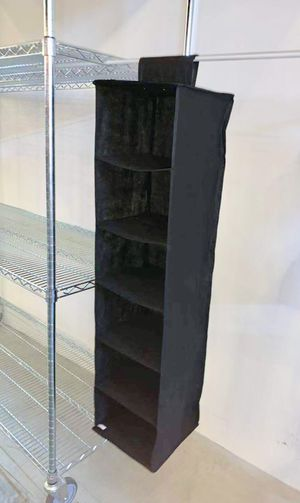 New in box closet storage organizer shoe purse easy to attach or install for Sale in West Covina, CA