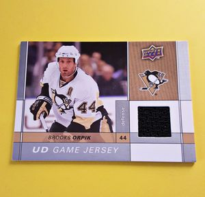 2009 - 10 UD Brook Orpik Game Jersey Hockey for Sale in Compton, CA