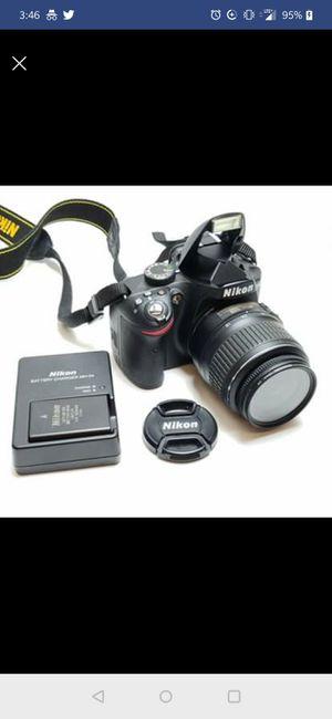 Nikon D3200 24.2MP Digital SLR Camera - Black Kit w/ DX 18-55mm for Sale in Edison, NJ