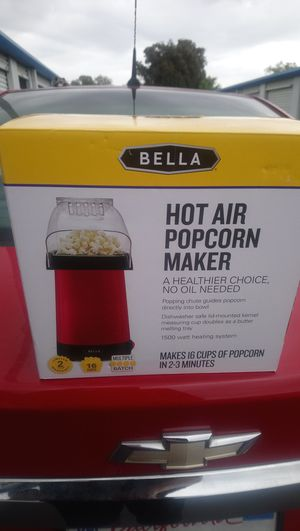 Brand new Bella Hot air popcorn popper for Sale in Saint Petersburg, FL