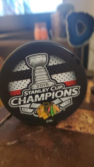 Chicago Blackhawks champion puck for Sale in Issaquah, WA