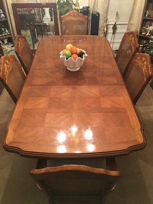 Oak Dining Room Table & China Cabinet for Sale in Dulles, VA