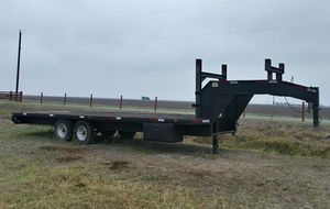 Texas Bragg 24ft Gooseneck trailer for Sale in Lyford, TX