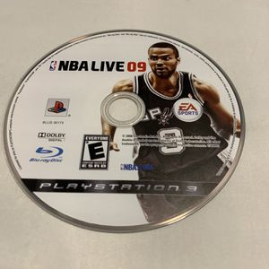 NBA Live 09 For PlayStation 3 PS3 Disc Only Video Game for Sale in Camp Hill, PA