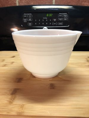 Opal Pyrex pouring bowl for Sale in Narberth, PA