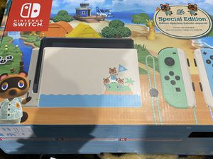 Nintendo Animal Crossing New Horizon Limited Edition Nintendo Switch Console for Sale in Santa Ana, CA