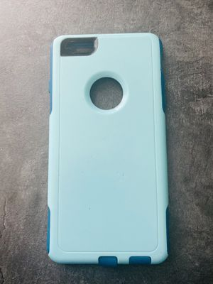 Simple blue dual-layered iPhone 6s Plus case for Sale in West Columbia, SC