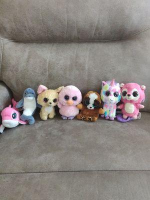Assorted stuffed animals. for Sale in Bradenton, FL