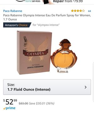 Paco Rabanne Olympea intense for Sale in Chicago, IL