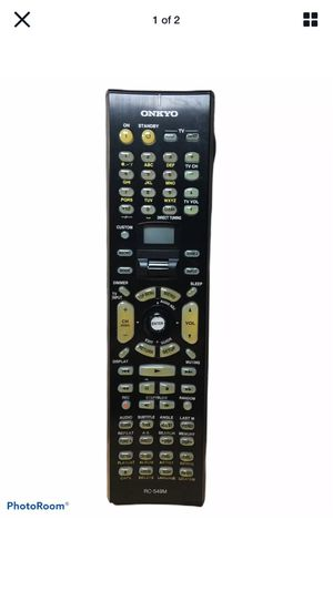 🔥 Original OEM Onkyo RC-549M Remote Control A/V Audio Video Tested Rare 🔥 for Sale in Levittown, NY
