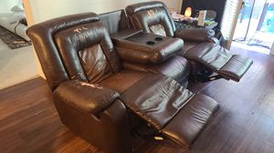 3 seater couch with 2 recliners for Sale in San Jose, CA