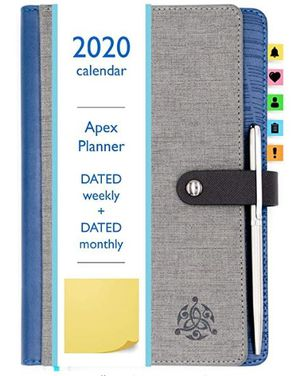 Ready For School/College? Planner 2020! Fully Dated Monthly, Weekly & Daily. Bonus Planner Stickers & Pen! for Sale in Frederick, MD