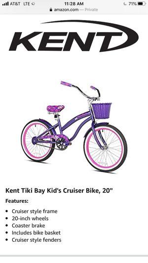 "Kent Tiki Bay Girls Cruiser Bike 20"" for Sale in Wheat Ridge, CO"