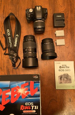 Canon Rebel T1i (Like new) for Sale in Carlsbad, CA