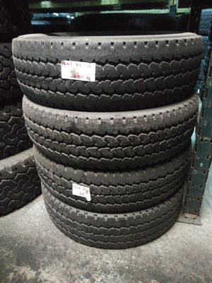 LT245/75R17 FIRESTONE TRANSFORCE AT 245/75R17 USED MATCHING TIRES MOUNTED AND BALANCED 245 75 17 for Sale in Fort Lauderdale, FL