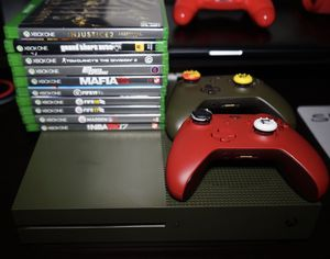 Xbox One S w/ Controllers and Games for Sale in Los Angeles, CA