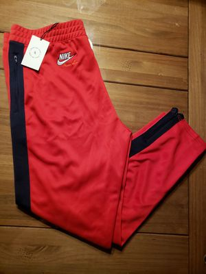 NIKE NIKELAB X MARTINE ROSE RED JOGGER TRACK PANTS MENS...SZ MED...XL...BNWT for Sale in Bakersfield, CA