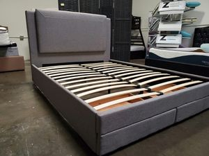 Queen Size Bed Frame with 2 Drawers for Sale in Santa Ana, CA