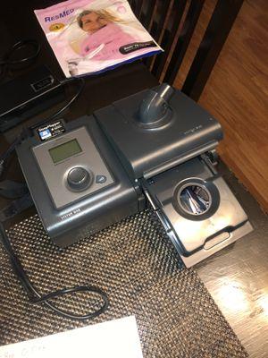 REMstar pro c-flex +cpap sleep Apnea machine Respironics system one for Sale in New Chicago, IN