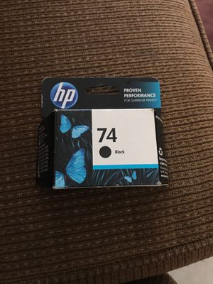 Hp ink 74 for Sale in Ontario, CA