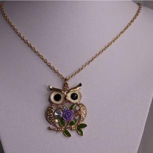 Women's Purple Owl Necklace Set for Sale in Stafford, VA