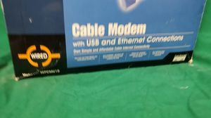 Linksys USB and Ethereal Connection Cable Modem for Sale in Brooklyn Center, MN
