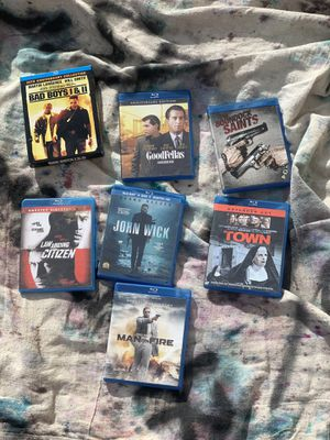 8 action Blu Rays for Sale in Pueblo West, CO