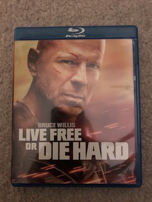 Live Free or Die Hard Blu ray for Sale in Portland, OR
