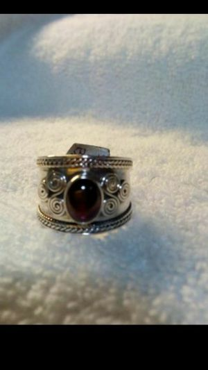 Beautiful brand new Sterling silver women's ring size 7..smoke free home for Sale in Hemet, CA