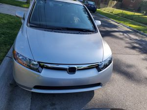 SALVAGE TITLE 2006 HONDA CIVIC 69K MILES for Sale in Silver Spring, MD