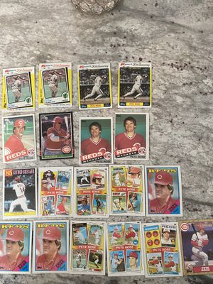Pete Rose Baseball Card Lot for Sale in Vienna, VA