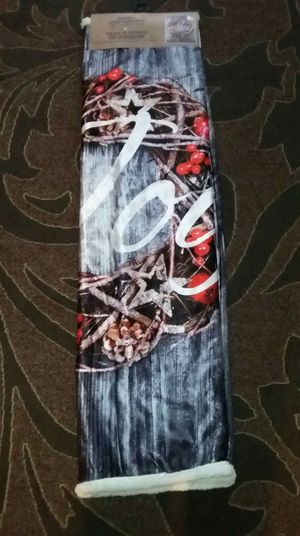 "Joy 50""×60"" beautiful soft sherpa throw blanket, brand new $10 for Sale in Everett, WA"