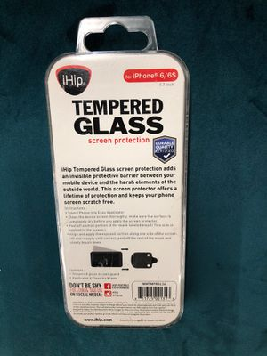 Tempered glass screen protector for iPhone 6/6S for Sale in Baton Rouge, LA