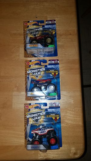 Iron Man, Spider-Man, Captain America Monster Jam Trucks for Sale in Federal Way, WA