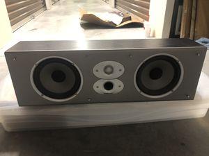 Polk Audio CSI5 Center Channel Speaker, black, great shape for Sale in Stuart, FL