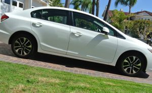 White 2013 Honda Civic EX Added Options for Sale in Beachwood, OH