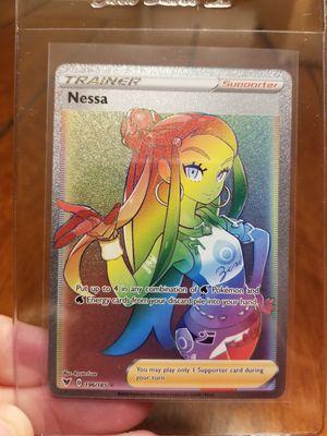 Vivid Voltage Rainbow Rare Nessa secret pokemon for Sale in Duncan, SC