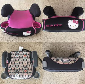 Child Kids Booster Car Seat - two itens for 45.00 for Sale in Boca Raton, FL