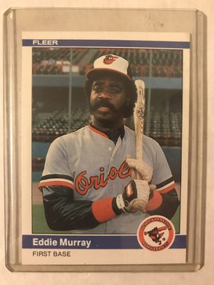 Eddie Murray Baltimore Orioles Baseball Card for Sale in Raleigh, NC