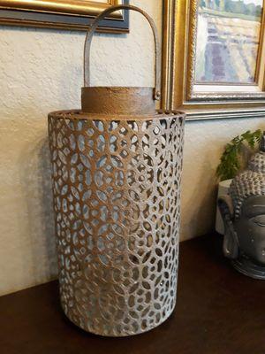 Metal hanging candle lantern for Sale in Seattle, WA