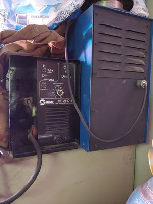 Miller High Frequency Tig Box with extras for Sale in Modesto, CA