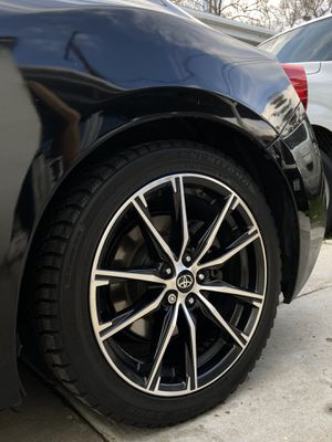 2017 2018 2019 Toyota 86 Subaru BRZ Scion frs Prius corolla camry stock oem wheels with TPMS rims and tires for Sale in Downey, CA