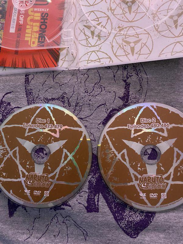Naruto Shippuden DVD Set 37