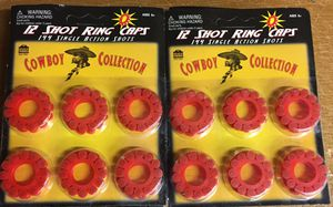 12 Shot Ring Caps 10 Pack Lot (1440 Total Caps) for Sale in Concord, MA