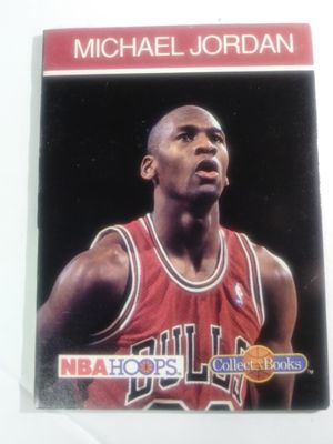 Michael Jordan hoops mini card book for Sale in Waterbury, CT