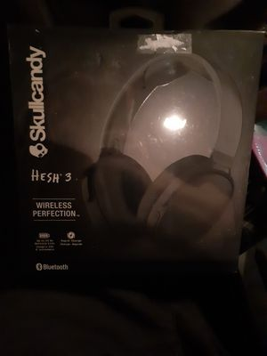 Skullcandy Hesh 3 OVER THE EAR Wireless headphones for Sale in Euless, TX