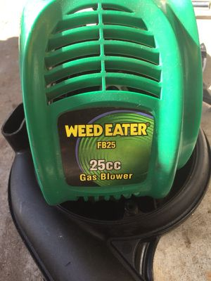 Weed Eater blower FB25 for Sale in Georgetown, TX