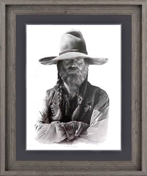 Willie Nelson as Barbarose-artist CP Vaughn for Sale in Jackson, MS