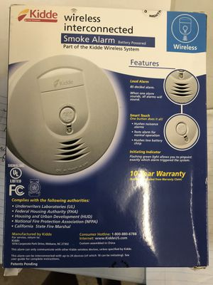 Kiddie Wireless interconnect Smoke Detector for Sale in Aurora, OH