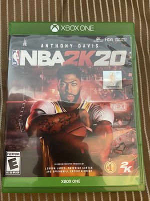 NBA 2K20 Xbox one for Sale in Arlington, VA